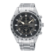 SEIKO CHRONOGRAPH SNDH31P1 STAINLESS STEEL SILVER MENS WATCH