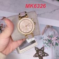 美國代購🇺🇸台灣現貨 古典晶鑽腕錶 不鏽鋼錶帶 MK手錶 MK6326