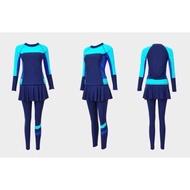 [#3]  PENANG READY STOCK M-12XL Women Swimming Suit Muslimah Swimsuit Plus Size Cover Baju Mandi Muslimah
