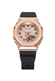 G-shock Casio G-Shock Women's Analog-Digital Watch GM-S2100PG-1A4 Rose Gold Metal Covered Black Resin Band Sports Watch