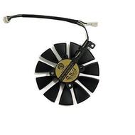85มม.PLD09210S12HH สำหรับ ASUS GTX1060 GTX1070 DUAL 6G / 3G AREZ-EX-RX570-8G EX-GTX1060 EX-GTX1070กราฟิกการ์ด GPU พัดลม (1 PLD09210S12HH B พัดลม)