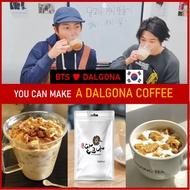 [BTS ❤ DALGONA] Korea Best DALGONA Sugar candy_ Insta coffee