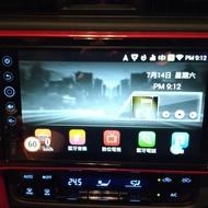 TOYOTA Altis 11.5代原廠影音Carmax車美仕鼎天主機破解