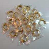 กรอบสีทอง ใส่เหรียญบาทครุฑ ปี2517 ใส่พอดี ราคาต่อ 1ชิ้น
