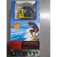 SPORTS Cam 1080P 黃色
