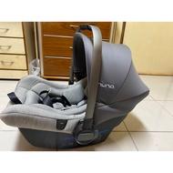 Nuna pipa lite isofix  附底座 送推車轉接座 安全帶皆可用 新生兒提籃