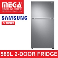 SAMSUNG RT21M6211SR 589L 2-DOOR FRIDGE (3 TICKS)
