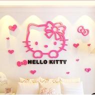 Hello kitty 3D KT1 壓克力立體壁貼 立體牆貼 臥室 造型 臥室 客廳 書房 裝飾 壁紙 壁貼