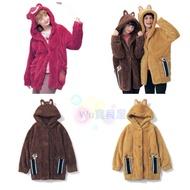 日本迪士尼代購·預購-舒適保暖長外套 熊抱哥 奇奇 蒂蒂