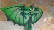 Layang-layang Lukis Naga Jerman dekorasi layangan Bali