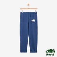女裝ROOTS - 國際棉褲日系列窄版棉褲-藍色