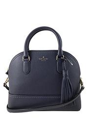 (Kate Spade New York) Kate Spade New York Carli Mccall Street Leather Satchel in Diver Blue-BAG-1251