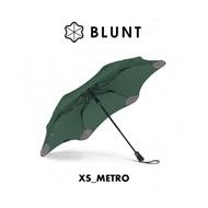 【BLUNT 紐西蘭 XS_METRO UV自動折傘《森林綠》】BLT-X01/摺疊傘/自動傘/雨傘