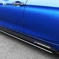 適用 寶馬 BMW F10 F30 F15 F16 碳纖維紋側裙 卡夢貼 側裙車身拉花 M Performance 改裝