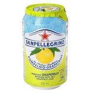義大利聖沛黎洛氣泡水果水葡萄柚口味330ml 24入組