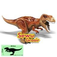 Lego Dino Trex Brown 2 Jurassic World Park Fallen Kingdom Indominus Indoraptor Children's Toys