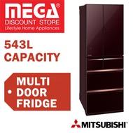 MITSUBISHI MR-WX71Y 543L 6 DOOR FRIDGE  /  1 YEAR WARRANTY