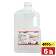 醫強 酒精75% 4000mlX6瓶 專品藥局 (唐鑫 生發 克司博) 【2015765】