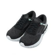 【免運現折$250】MIZUNO WAVE SKYRISE 慢跑鞋 黑白 J1GD200910 女鞋