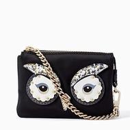 Authentic Kate Spade Star Bright Owl Mini Natasha Small Wristlet