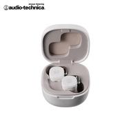 【audio-technica 鐵三角】鐵三角 ATH-SQ1TW 真無線耳機 白色(白色 真無線藍芽耳機)