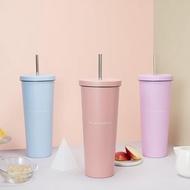 【BEE SELECT】良杯製所 不銹鋼吸管杯700ml- 多色可選 304不鏽鋼