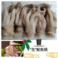 """🌈 阿根廷 """"生"""" 魷魚頭 約500g 烤肉,魷魚 鹹酥雞聖品"""