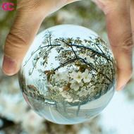 現貨❤高品質❤透明水晶球 實心玻璃球