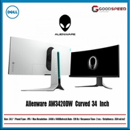 Dell Monitor Alienware AW3420DW Curved 34 Inch 120Hz