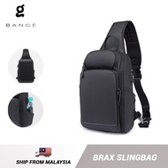 Bange Brax USB Multi Compartment Big Capacity Water Resistant Card Pocket Outdoor Travel Bottle 9.7 Inch Ipad Sling Bag