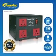 PowerPac 2000W Heavy Duty Step Up & Down Voltage Converter Transformer 110V / 220V Voltage Regulator (ST2000)