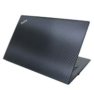 【Ezstick】Lenovo ThinkPad T480S 黑色立體紋機身貼(含上蓋貼、鍵盤週圍貼)