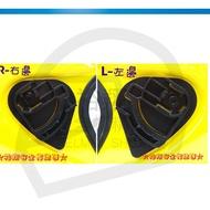 SBK SUPER RR 安全帽專用鏡片 (單邊) 半罩 分段機組 鏡座《裕翔》