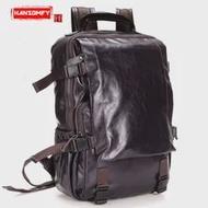 กระเป๋าสะพายชายกระเป๋าคอมพิวเตอร์กระเป๋าเป้สะพายหลังกระเป๋าเดินทางหนังแท้กระเป๋าเป้สะ...