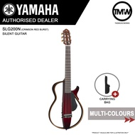 PRE-ORDER (Dec/Jan) Yamaha SLG200N Silent Guitar Nylon String Acoustic Guitar with Durable Carrying Bag - Super-compact Ultra-quiet performance - Absolute Piano - The Music Works Store GA1