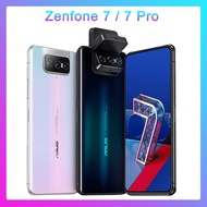 ASUS Zenfone 7 Pro Global Version 8GB RAM 256GB ROM Snapdragon 865/865Plus 5000MAh NFC android Q 90Hz 5Gโทรศัพท์สมาร์ทโฟน