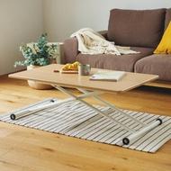【完美主義】簡約多功能氣壓升降桌/茶几桌/和室桌/餐桌/工作桌(二色可選)