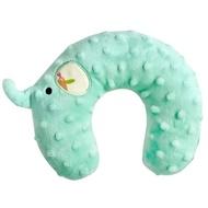 【nac nac】魔豆旅行嬰兒護頸枕(大象-蒂芬妮藍)