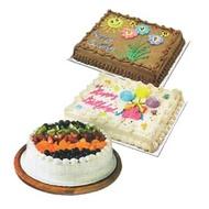 【蝦皮茉兒】好市多 巧克力鮮奶油蛋糕 鮮奶油水果蛋糕 綜合水果蛋糕 好市多 COSTCO 好事多