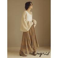 Ungrid 斑點不規則雪紡長裙(2色)