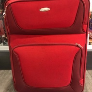 samsonite 新秀麗 紅色 可擴充 二輪 二手 行李箱 24吋