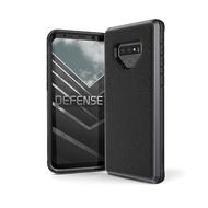 X-Doria SAMSUNG Galaxy Note9 刀鋒奢華系列保護殼 手機殼 防摔殼 黑荔枝紋 - 紳士黑