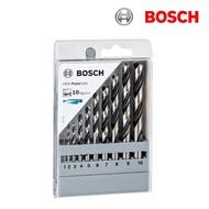 德國BOSCH 博世 10支金屬鑽頭組 1--10mm 10件金屬鑽尾組 直柄鑽頭2608577348
