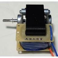 【專利品】維修零件~除濕機馬達 短軸攻牙 雙E溝