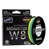 SeaKnight W8 300M 8 Strands Fishing Line Braided Wire Multi-Colors 20-100LB Line Salt Water