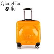 การ์ตูนหมี3D กระเป๋าเดินทางแบบลากสำหรับเด็กกระเป๋าเดินทางกระเป๋าเด็ก