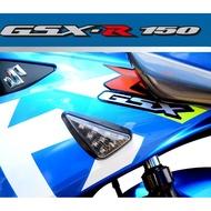 ~MEDE二館~ 鈴木 Suzuki Gsx R150 GSX-R150 專用 三角方向燈 燻黑 短方向燈 下雨天會浸水