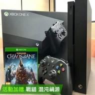 【現貨】XBOX ONE X 主機 黑潮版【GAME休閒館】二手 / 中古