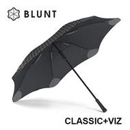 【紐西蘭BLUNT 保蘭特】抗強風反光雨傘 – 直傘大號 (時尚黑)