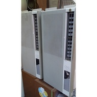 二手 中古冷氣專賣網) 聲寶直立式窗型冷氣機 220V   售6500+安裝架子600    歡迎現場試機 [物在桃園]